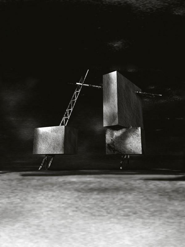 Tatlin Tower - 3D art - Gabriella Jangfeldt