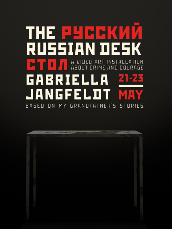 Russian Desk - Gabriella Jangfeldt